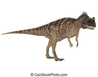 Ceratosaurus - Illustration of a Ceratosaurus (dinosaur...