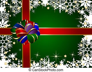 christmas present background
