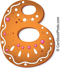 cookies letter B