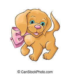 ????????? ????? ?????? - Illustration of a cute dog