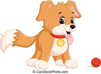 cute funny smiling dog