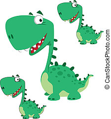dino cartoon cute