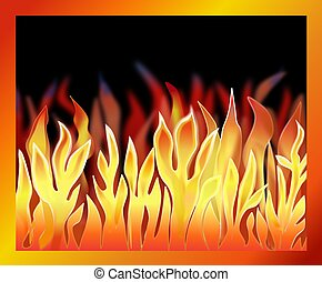 Illustration of a Fire