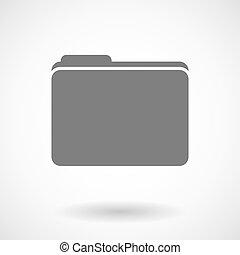 Illustration of a folder