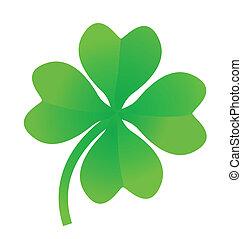 four leaf clover - Illustration of a four leaf clover