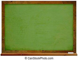 Illustration of a green Chalkboard
