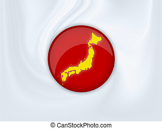 japan - Illustration of a japan flag