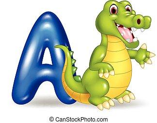 Illustration of A letter for Alliga