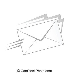 illustration of a mail icon
