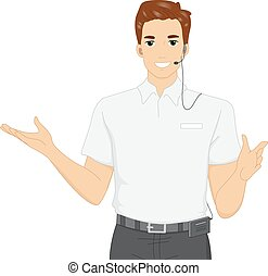 Tour Guide Clipart And Stock Illustrations 3932 Vector