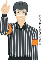 Ice Hockey Umpire