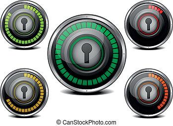 password security meter