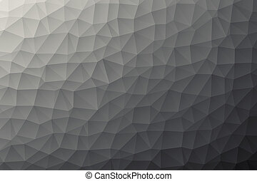 modern low poly background - Illustration of a modern low ...