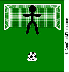 illustration of a penalty