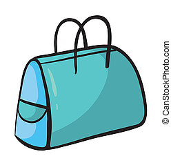 purse - illustration of a purse on white background
