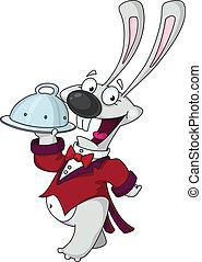 rabbit waiter