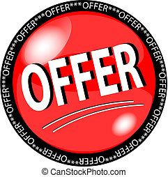 red offer button