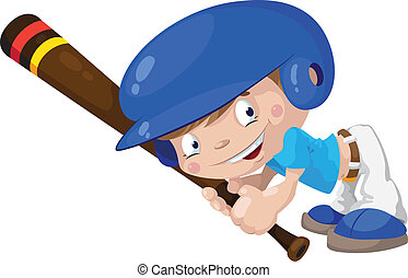 smile baseball boy