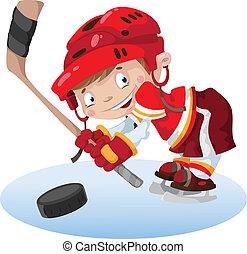 smile boy hockey