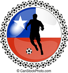 soccer button chile