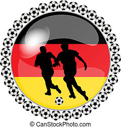 soccer button germany