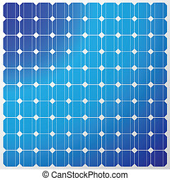 solar panel - Illustration of a solar panel with a ...