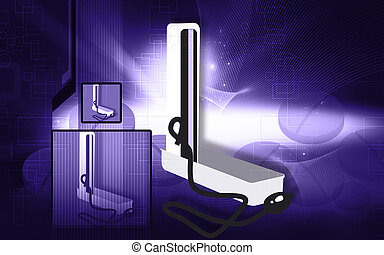 Sphygmomanometer - Illustration of a Sphygmomanometer in ...