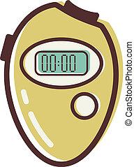 Illustration of a stopwatch