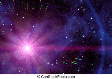 a strange sun in the deep space