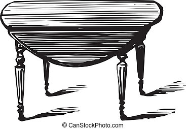 Illustration of a table
