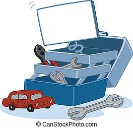 Tool Kit - Illustration of a Tool Kit