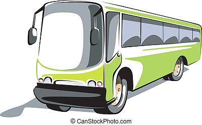 bus - Illustration of a transport bus