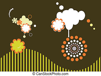 Illustration of abstract background