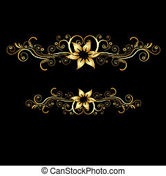 abstract classical vector background - illustration of ...