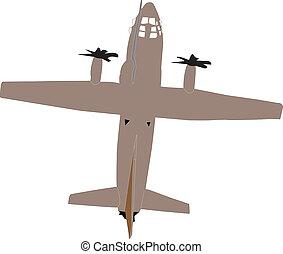 aeroplane - vector