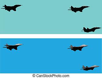 aircraft - vector