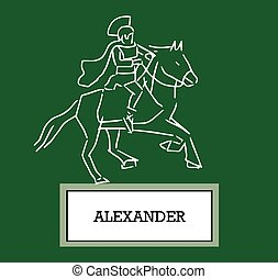 Illustration of Alexander