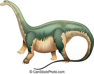 Apatosaurus - Illustration of an Apatosaurus