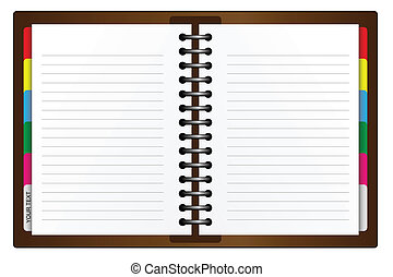 Organizer - Illustration of an Organizer.