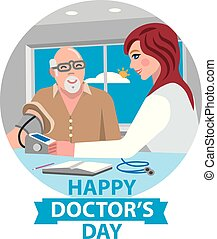 card for happy doctor's day