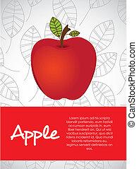 illustration of apple