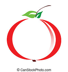 illustration of apple vector