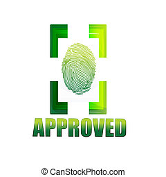 approved sign with thumb