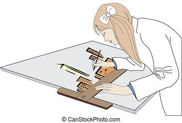 architect - illustration of architect