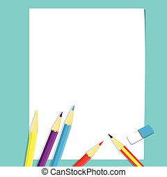 Illustration of Art class concept for Education Concept-Vector Illustration