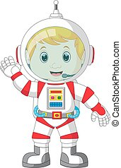 Astronaut cartoon - illustration of  Astronaut cartoon