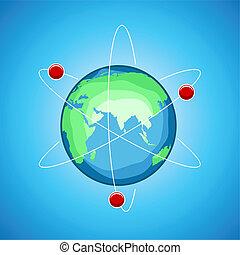 atom globe