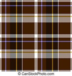 Autumn Tartan Cloth Seamless Pattern - Illustration of...