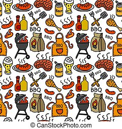 barbecue pattern