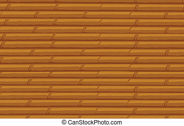 bamboo stack background - illustration of bamboo stack...